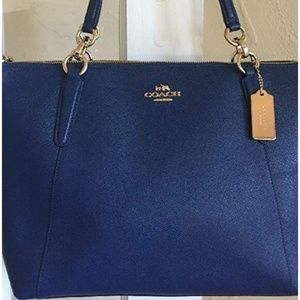 COACH AVA LEATHER TOTE, NWOT!